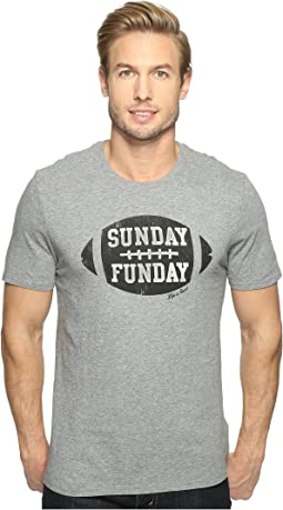 Life is Good - Sunday Funday Football Smooth Tee