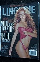 PLAYBOY'S LINGERIE 2001 07 AUG CHRISTENSEN HEATHER CHARIS BOYLE CANDICE MICHELLE NU