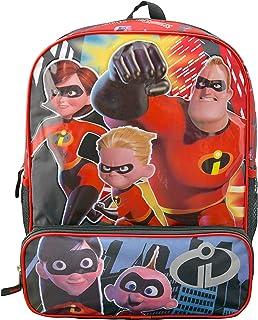 Disney Incredibles 2 16 Inch Backpack with Bonus Super Hero Eye Mask