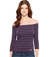 U.S. POLO ASSN. - Off Shoulder Tee