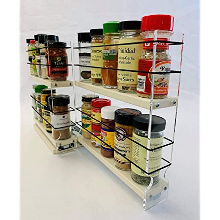 Kitchen Organization Drawer Box Wall Mounted Rotating Salt Pepper Spice Condiment Container Drawer Kitchen Storage /& Organization