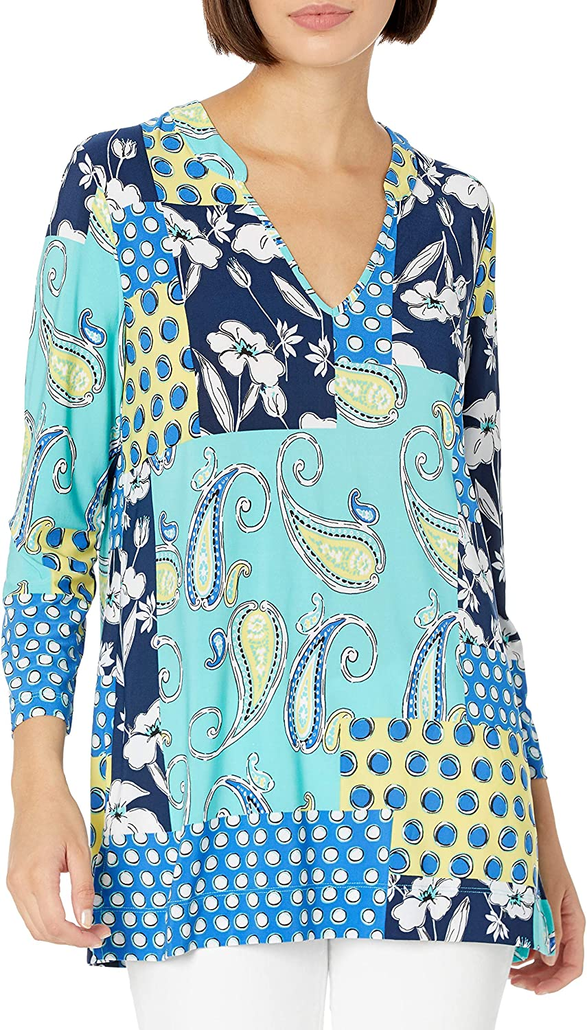 25% OFF New life Pappagallo Women's Top Tunic