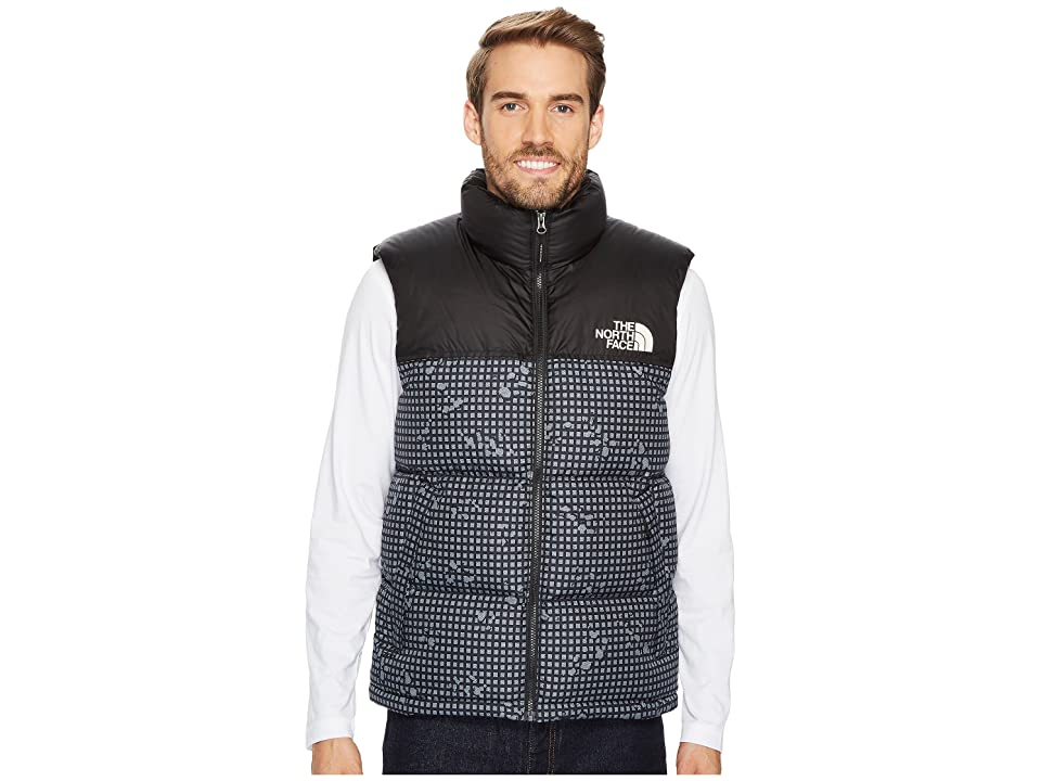 The North Face Novelty Nuptse Vest (TNF Black Nightmoves Camo Print/TNF Black) Men