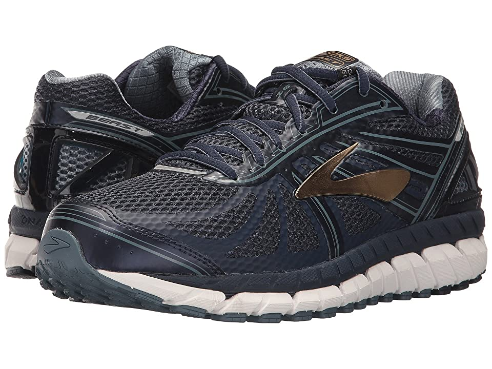 e21f4f5d2909d Brooks Beast  16 (Peacoat Navy China Blue Gold) Men s Running Shoes