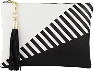 Best black and white clutches Reviews
