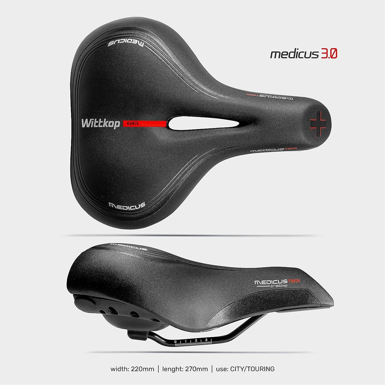 B/üchel Wittkop Twin Medicus 3.0 Bicycle Saddle