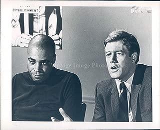 1968 Photo James Earl Jones Frank Converse Portrait Vintage Historic Men 7x9