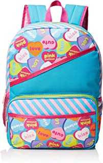 """Pink Platinum Candy Hearts 16"""" Backpack, Pink (Pink) - PNK-BP-02-R1"""