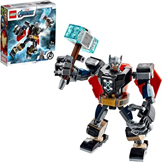 LEGO 76169 Super Heroes Marvel Avengers Thor Mech Armour Set, Action Figure Toy with Thor Minifigure