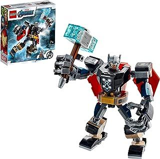 LEGO 76169 MarvelSuperHeroes L'ArmureRobotdeThor Jeu Figurine avec Thor Miniature