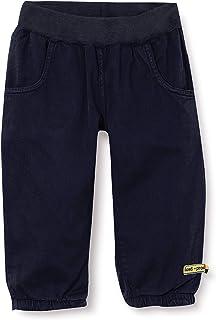 loud + proud Gewebte Hose, GOTS Zertifiziert Pantaloni Unisex-Bambini