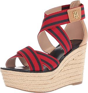 a1c058e4e539c Amazon.com  Tommy Hilfiger - Platforms   Wedges   Sandals  Clothing ...