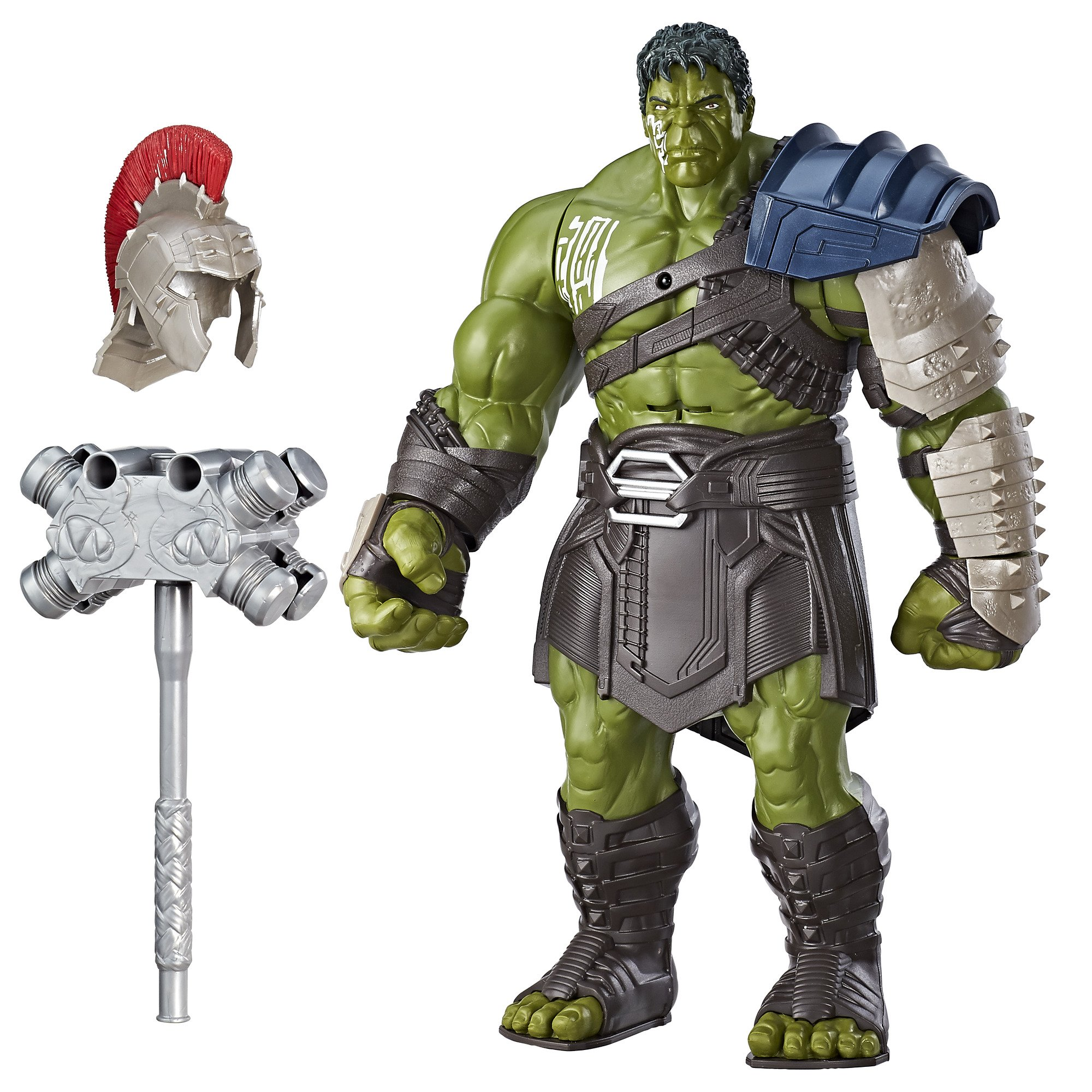Amazon Com Marvel Thor Ragnarok Interactive Gladiator Hulk Toys Games
