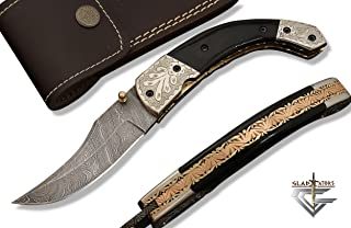 Best damascus pocket knife Reviews
