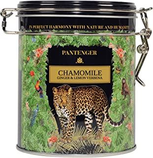 Pantenger Organic Chamomile Tea With Ginger and Lemon Verbena. Loose Leaf. 2 OZ - Makes 40 cups. Calming and Digestive Tea.