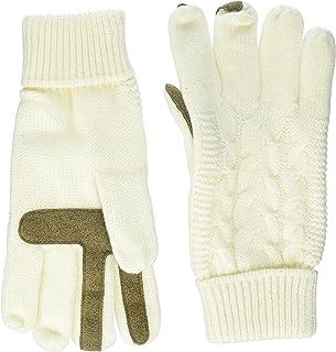 Isotoner Women/'s Ecosentials Stretch Fleece Gloves Ivory 1 size
