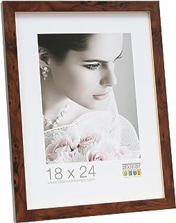 Deknudt Frames S226H1 Basic Cadre Photo Bois Naturel Large 10 x 15