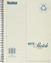 Bienfang Notesketch Paper Pad, Vertical Lined, 64 Sheets, 8.5-Inch by 11-Inch