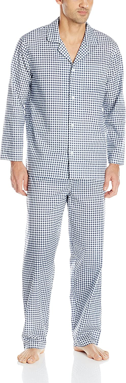 List price Fruit of the Loom Men's Sleeve Broadcloth Pajama Set Long Superior
