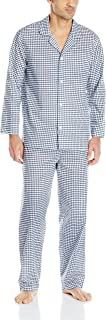 Men's Long Sleeve Broadcloth Pajama Set