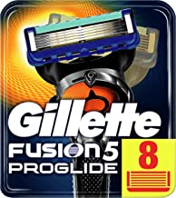 Gillette Fusion5 ProGlide Razor Blades For Men, 8 Refills