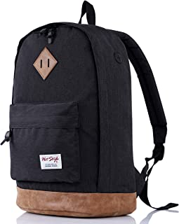 936Plus School Backpack for Boys, Cool College Student Men's Bookbag, 18x12x6in