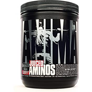 Animal Juiced Aminos - 6g BCAA/EAA Matrix plus 4g Amino Acid Blend for Recovery and Improved Performance - Strawberry Limeade - 30 Servings