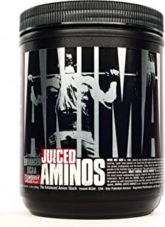 Animal Juiced Aminos - 6g BCAA/EAA Matrix plus 4g Amino Acid Blend for Recovery and Improved Performance - Strawberry Lime...