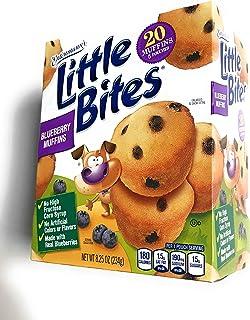 Entenmann's Little Bites Blueberry Muffins ( 20 Muffins 5 Pouches) Net WT 8.25 oz (234g)