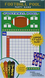 Amscan 279856 Football Pool Ribbons Game, One Size, Multicolor