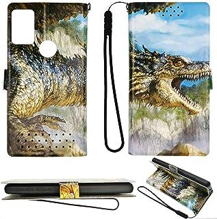 Oujietong Flip ケース Case for Vivo Y50 Y30i Y30 ケース Case Cover LONG