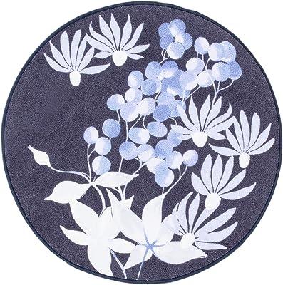 Vallila Poesia Rug Ø 80 cm Blue, 80