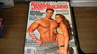 Natural Bodybuilding & Fitness Magazine August 2007 Anthony Presciano & Amy Pierro on Cover Biggest & Best Issue