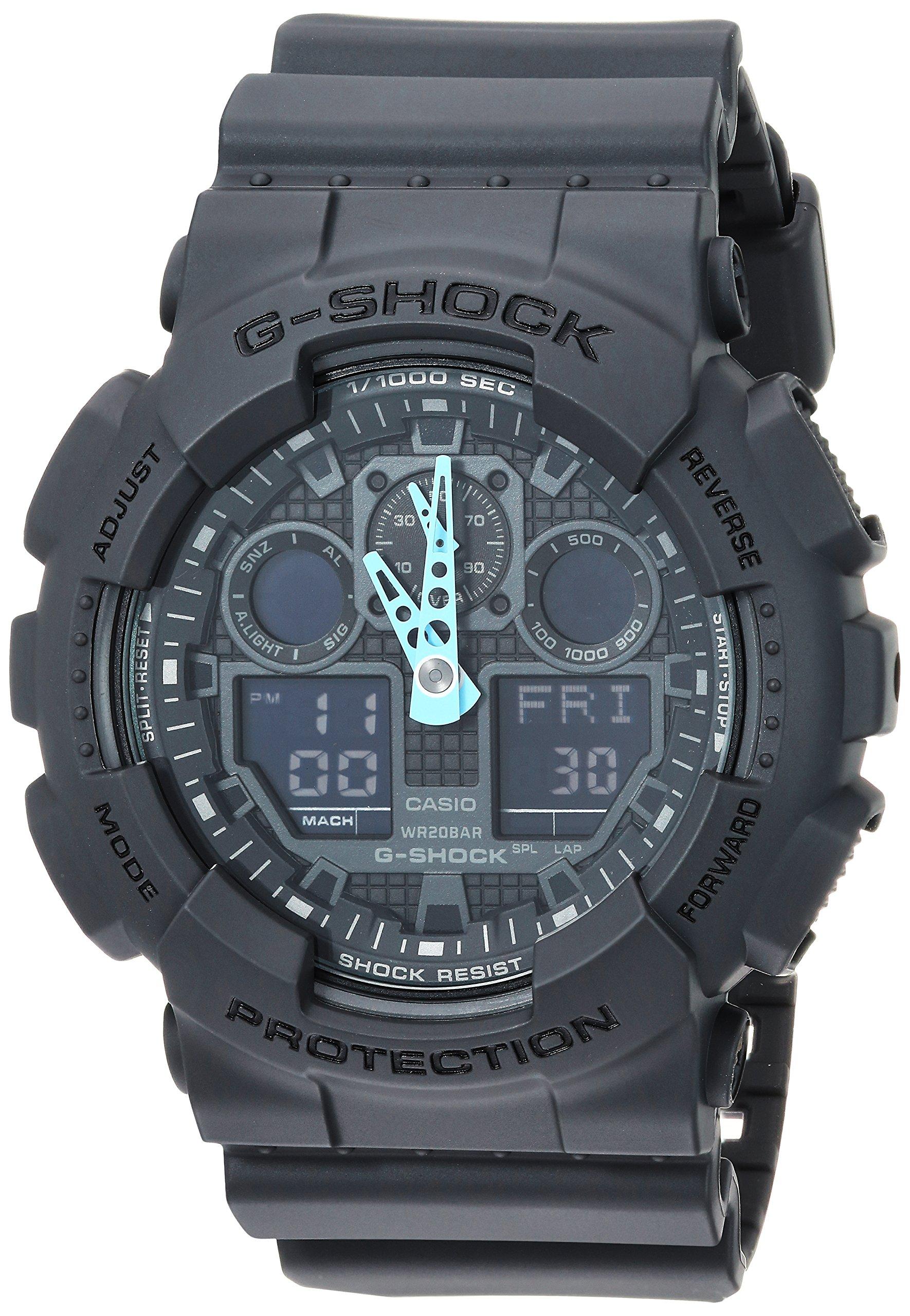 Casio G Shock Analog Digital Watch GA 100C 8ACR