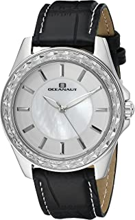 Oceanaut Women's OC1414 Year-Round Analog Quartz Black Watch