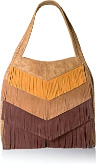 Best suede fringe bag brown Reviews
