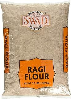Swad Ragi (Finger Millet) Flour - 3.5 lbs/1.589 Kg.