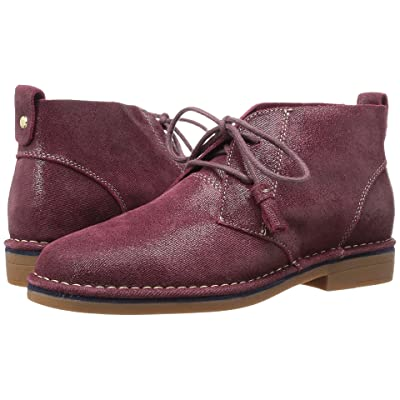 Hush Puppies Cyra Catelyn (Wine Shimmer Suede) Women