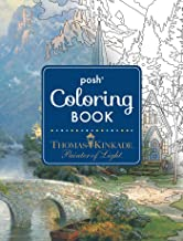 Posh Adult Coloring Book: Thomas Kinkade Designs for Inspiration & Relaxation: Volume 14