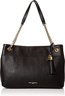 Bouquet Tote, Black/Black Gold