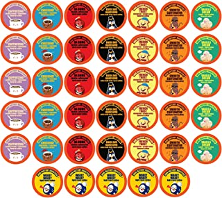 Java Factory Variety Pack Single-Cup Coffee for Keurig K-Cup Brewers, 40 Count