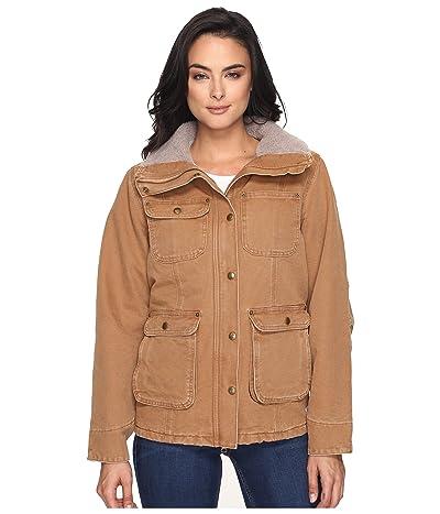 Carhartt Weathered Duck Wesley Coat (Carhartt Brown) Women