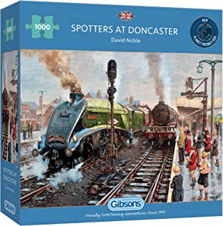 Spotters at Doncaster 1000 Piece Jigsaw Puzzle   Multi-Puzzle  Sustainable Puzzlefor Adults   Premium100% RecycledBoar...
