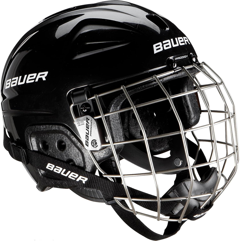 Bauer Lil - Casco de Hockey con Rejilla de protección Facial para Adulto