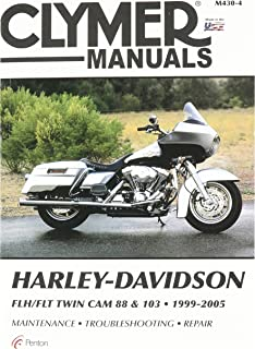 Clymer Repair Manual for Harley FLH FLT Twin Cam 88 99-05