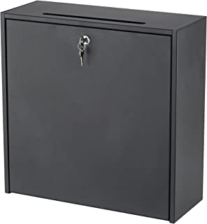 Safco Products 4258BL Inner Office Mailbox, Small, Black