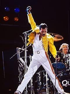 Freddie Mercury 1986 Queen Legendery Singer Star Poster Standard Size 18×24 inches