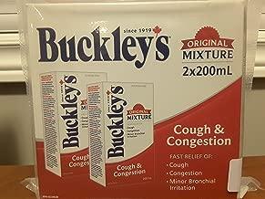 Buckley's Cough & Congestion Syrup Original Mixture 2x200ml