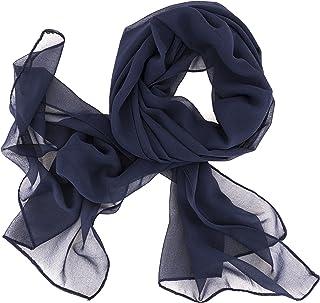 472a7eafe9e13d Dolce Abbraccio Damen Schal Stola Halstuch Tuch aus Chiffon für Frühling  Sommer Ganzjährig