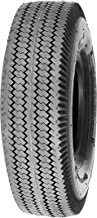 Deli Tire S-389, Sawtooth, 4-Ply, Tubeless, Lawn and Garden Tire (4.10/3.50-4)